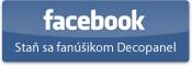 Staň sa fanúšikom Decopanel na Facebooku